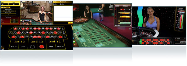 Live Casino Roulette Spiele online